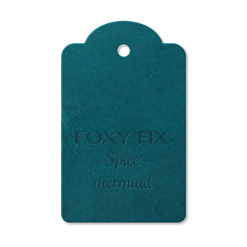 Leather Sample - Spice - Mermaid