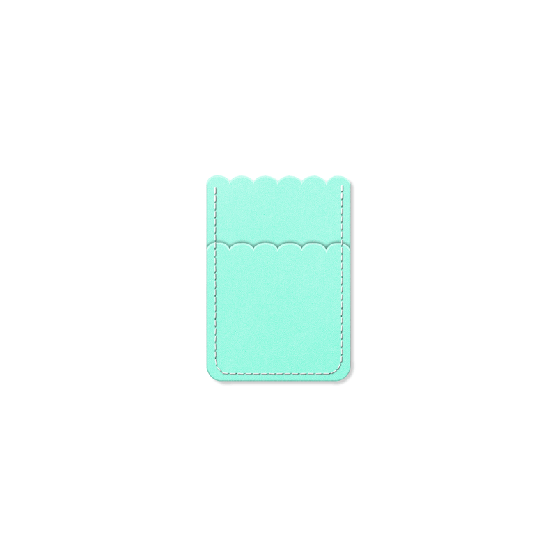 Custom - Petal Card Sleeve - Mint