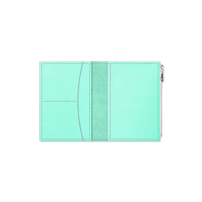 Custom - Foxy Notebook Wallet Insert - Size No. 3 - Mint