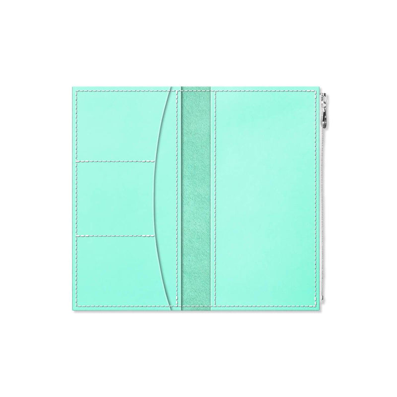 Custom - Foxy Notebook Wallet Insert - Size No. 6 - Mint