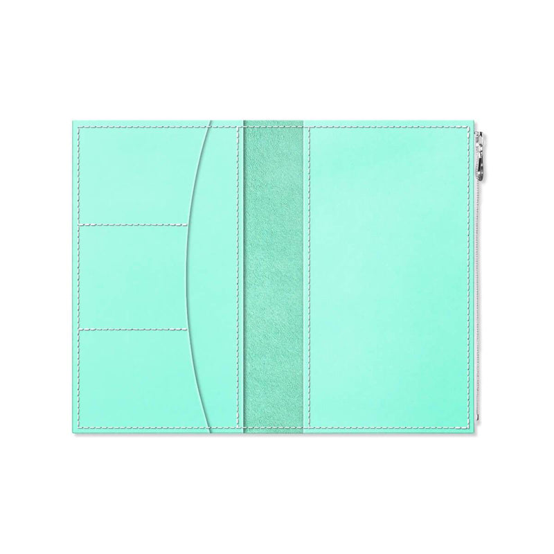 Custom - Foxy Notebook Wallet Insert - Size No. 7 - Mint