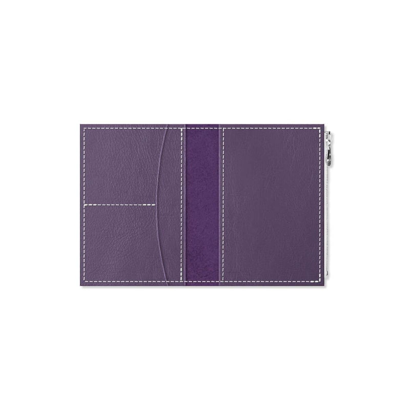 Custom - Foxy Notebook Wallet Insert - Size No. 3 - Mulberry