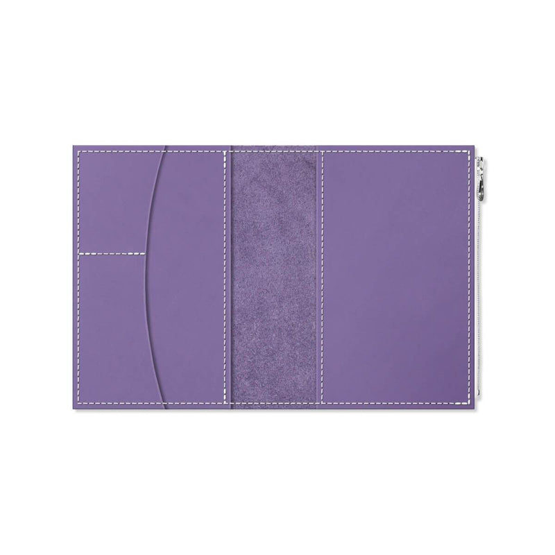 Custom - Foxy Notebook Wallet Insert - Size No. 5 - Orchid