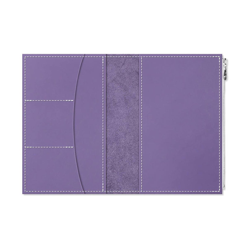 Custom - Foxy Notebook Wallet Insert - Size No. 8 - Orchid