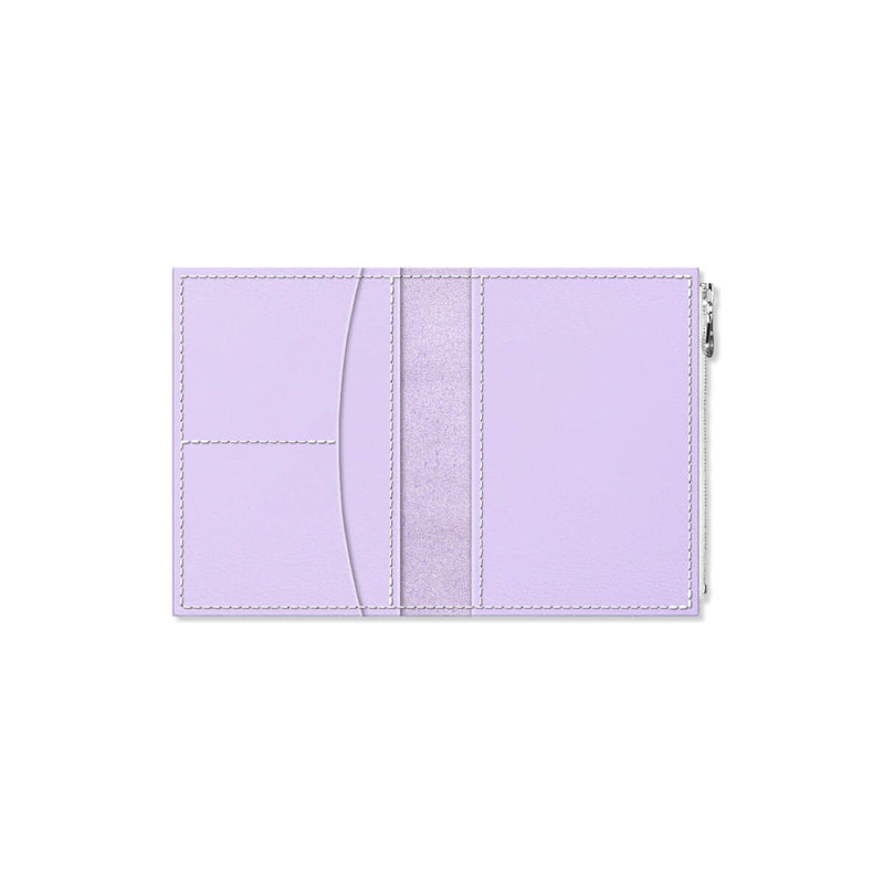 Custom - Foxy Notebook Wallet Insert - Size No. 3 - Wisteria