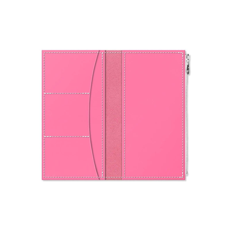 Custom - Foxy Notebook Wallet Insert - Size No. 6 - Pink Grapefruit