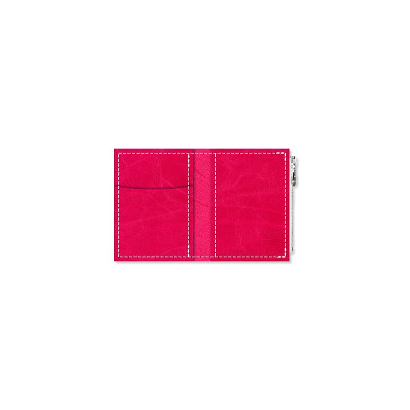 Custom - Foxy Notebook Wallet Insert - Size No. 0 - Pink Peppercorn