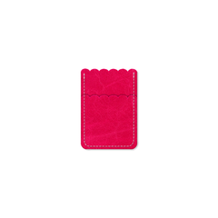 Custom - Petal Card Sleeve - Pink Peppercorn