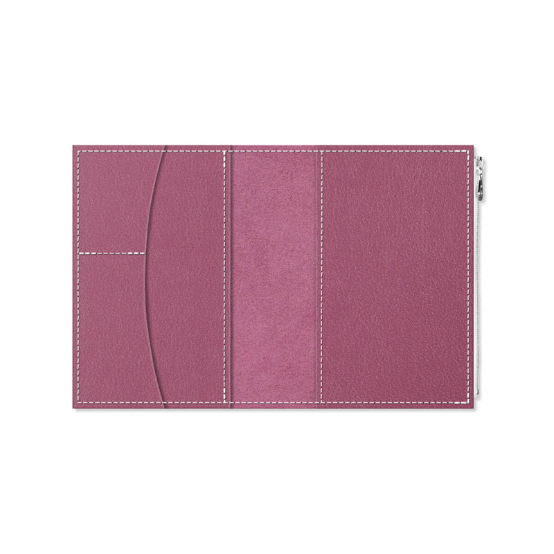 Custom - Foxy Notebook Wallet Insert - Size No. 5 - Plum Cake