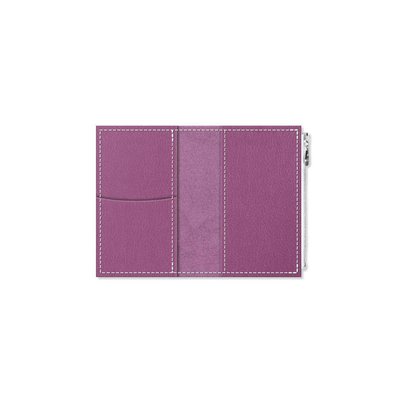 Custom - Foxy Notebook Wallet Insert  - Size No. 2 - Plum Cake