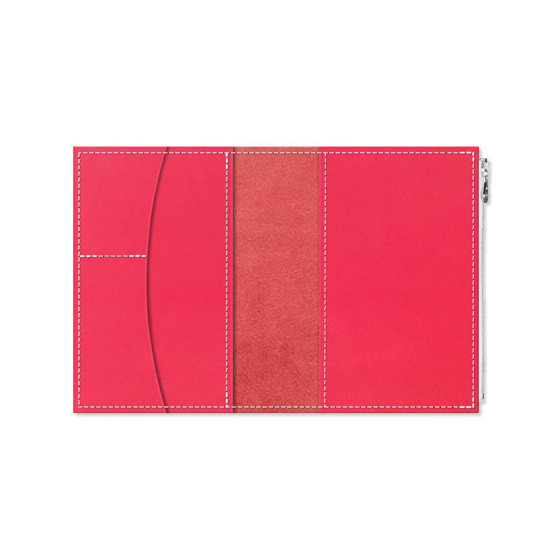 Custom - Foxy Notebook Wallet Insert - Size No. 5 - Poppy