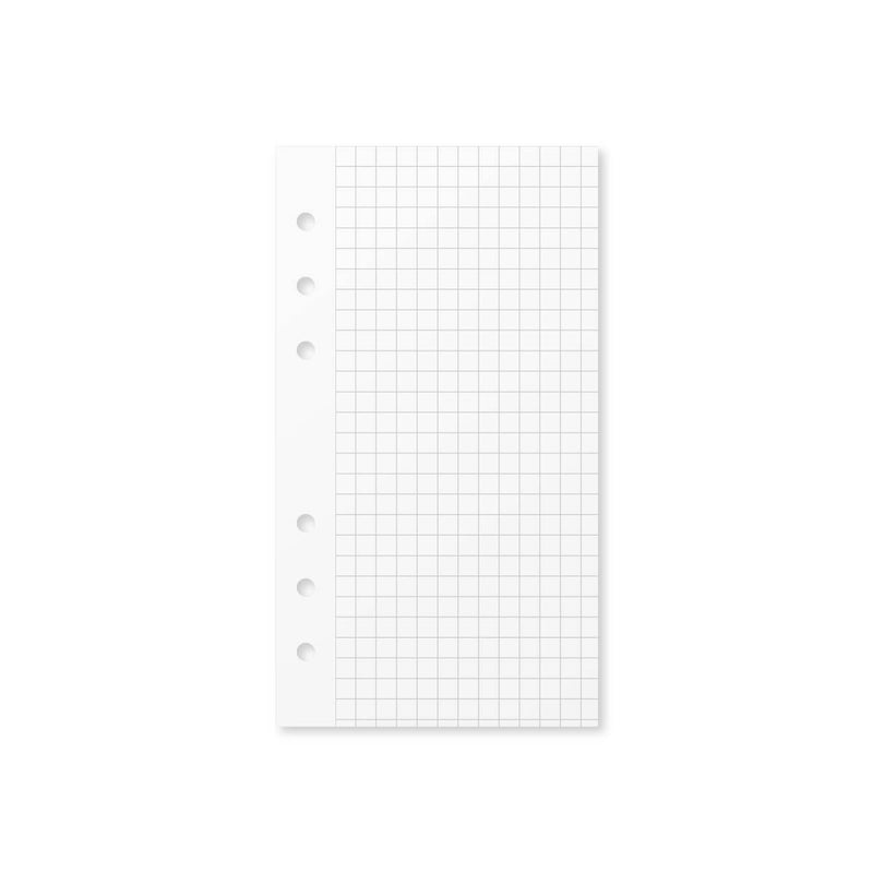 Paper Graph Grid Insert - Foxy Ring Binder (Personal)
