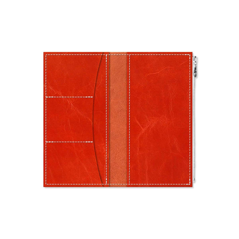 Custom - Foxy Notebook Wallet Insert - Size No. 6 - Saffron