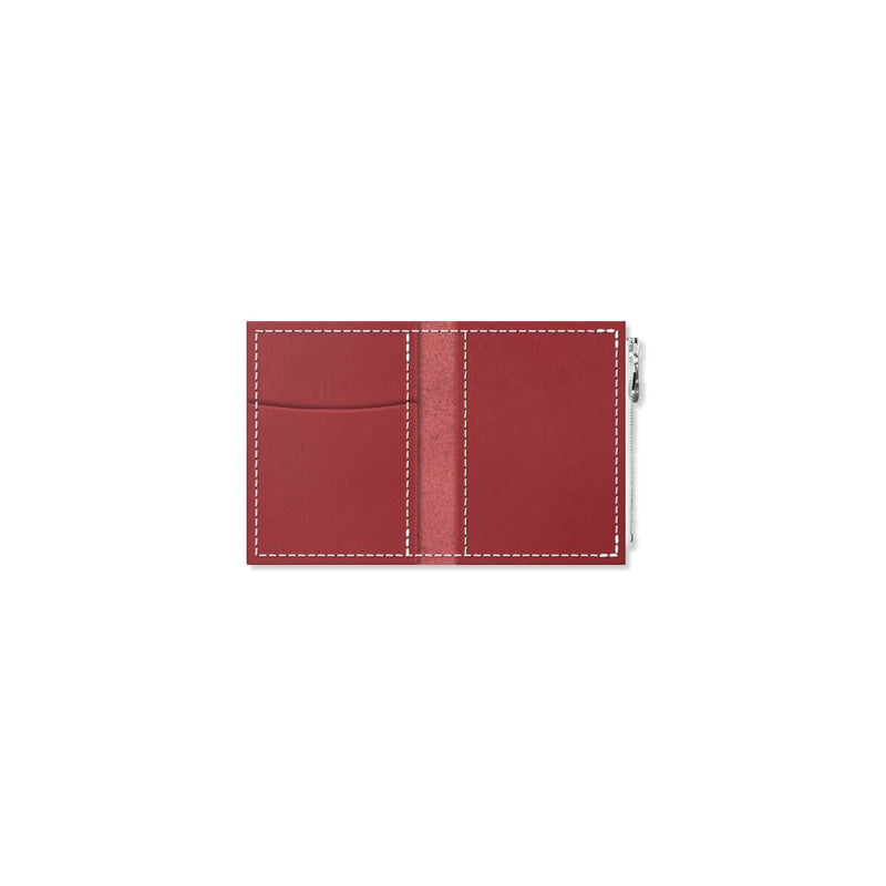 Custom - Foxy Notebook Wallet Insert - Size No. 0 - Scarlet