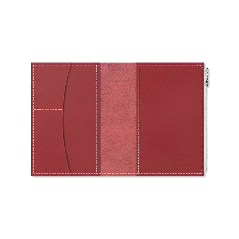 Custom - Foxy Notebook Wallet Insert - Size No. 5 - Scarlet