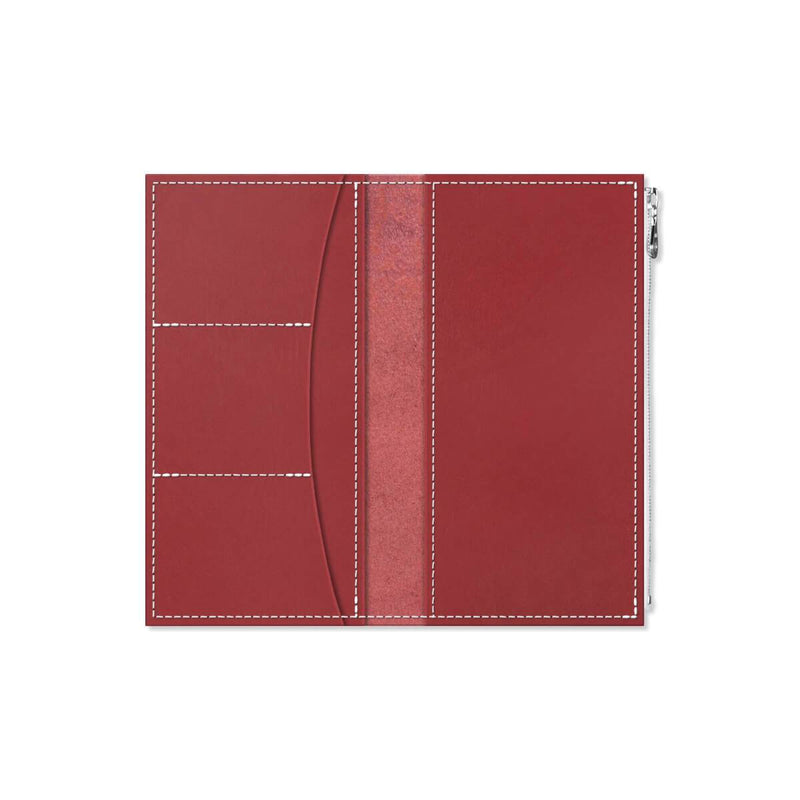 Custom - Foxy Notebook Wallet Insert - Size No. 6 - Scarlet
