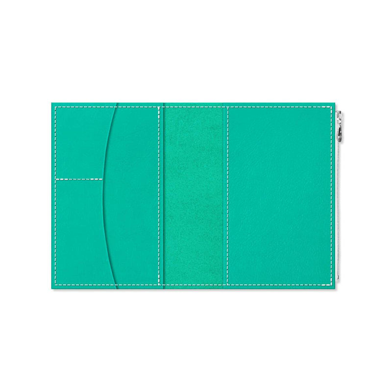 Custom - Foxy Notebook Wallet Insert - Size No. 5 - Shimmering Sea