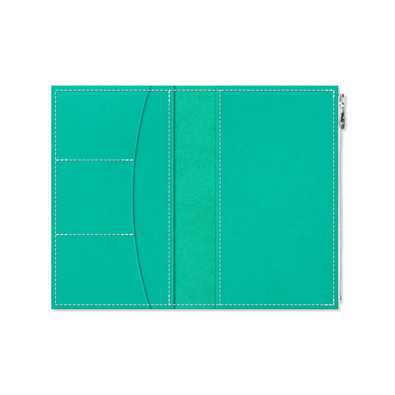 Custom - Foxy Notebook Wallet Insert - Size No. 7 - Shimmering Sea