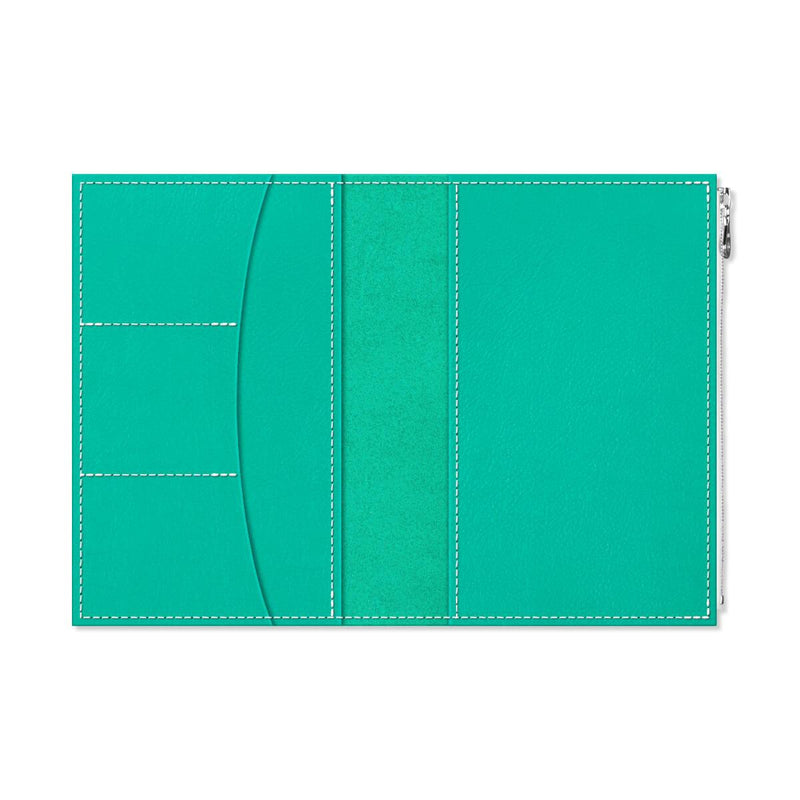 Custom - Foxy Notebook Wallet Insert - Size No. 8 - Shimmering Sea