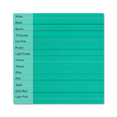 Custom - Petal Card Sleeve - Shimmering Sea