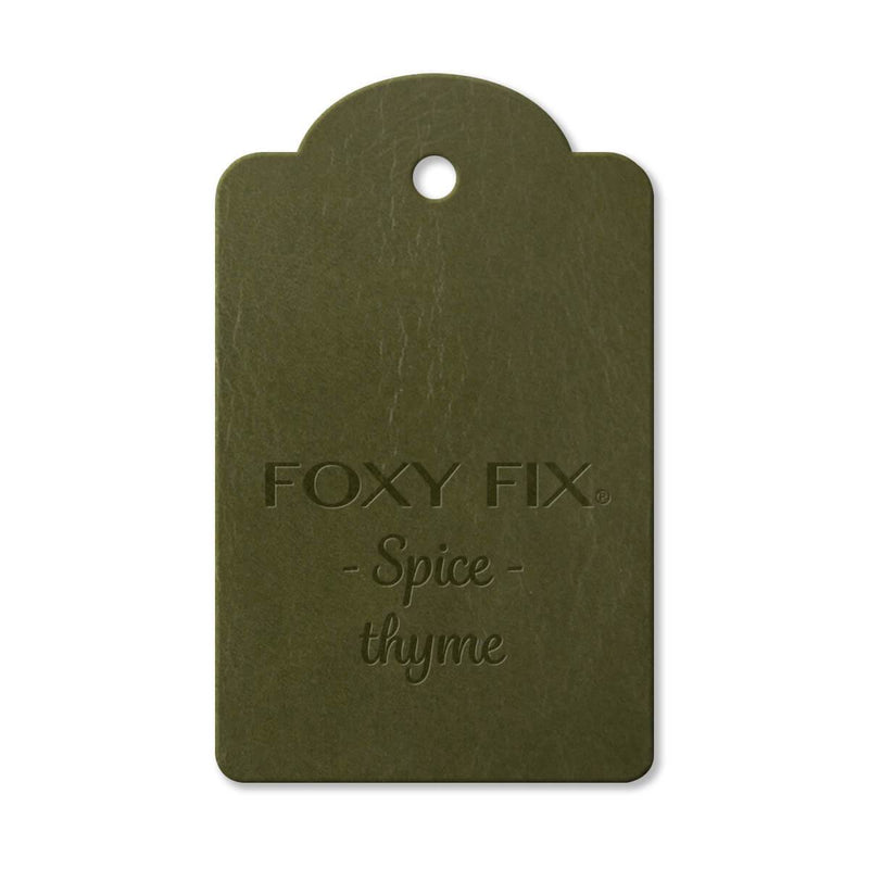 Leather Sample - Spice - Thyme