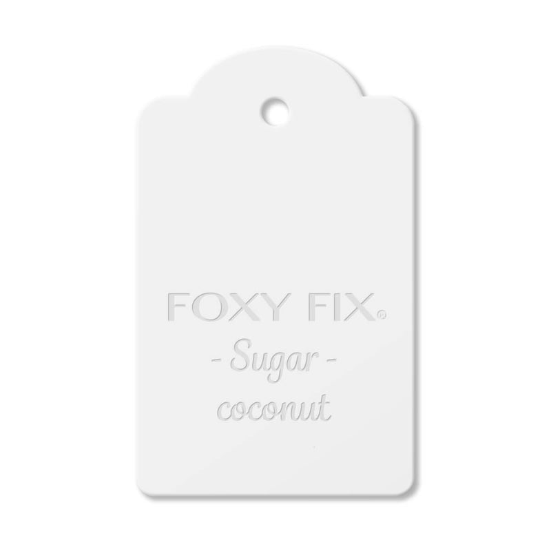 Leather Sample - Sugar - Coconut