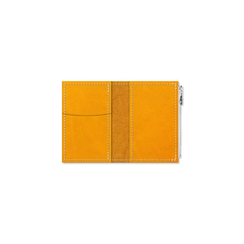 Custom - Foxy Notebook Wallet Insert - Size No. 1 - Turmeric