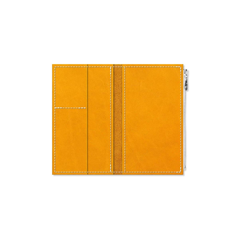 Custom - Foxy Notebook Wallet Insert - Size No. 4 - Turmeric