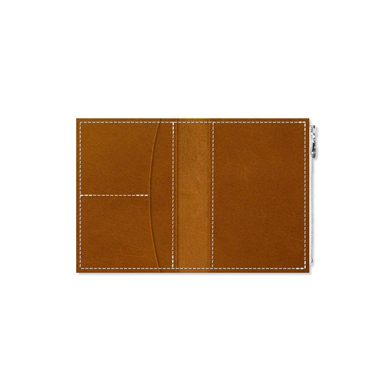 Custom - Foxy Notebook Wallet Insert - Size No. 3 - Whiskey