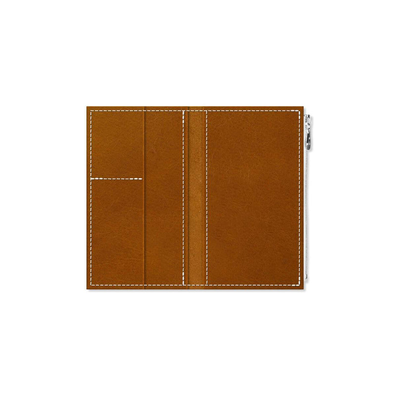 Custom - Foxy Notebook Wallet Insert - Size No. 4 - Whiskey