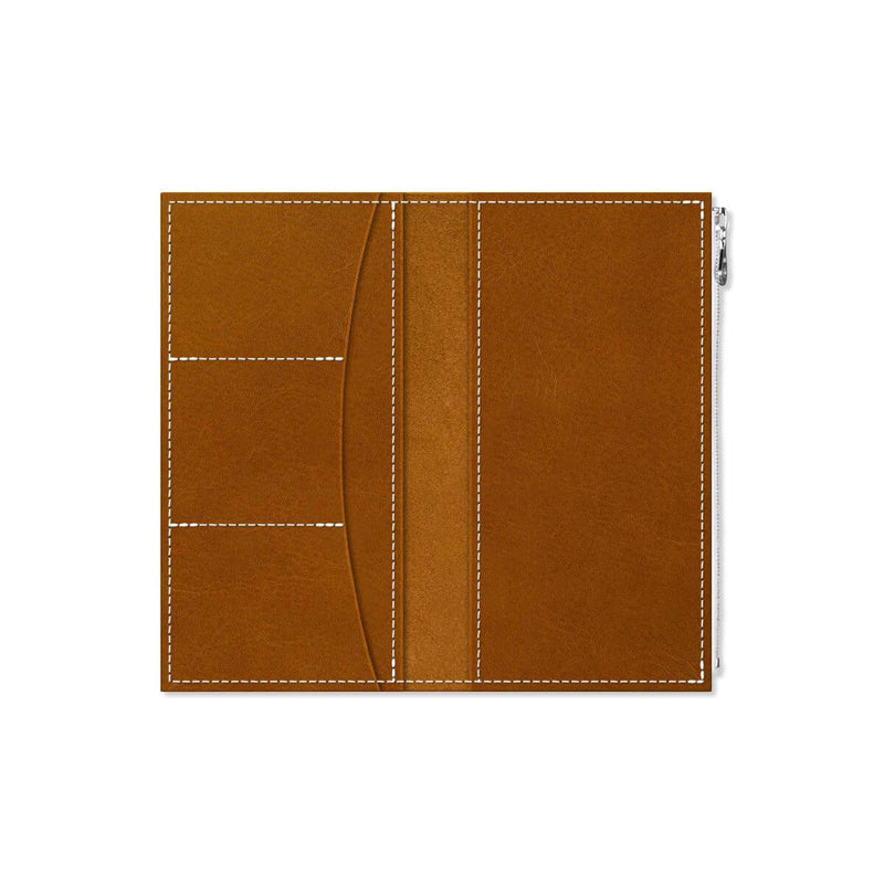Custom - Foxy Notebook Wallet Insert - Size No. 6 - Whiskey