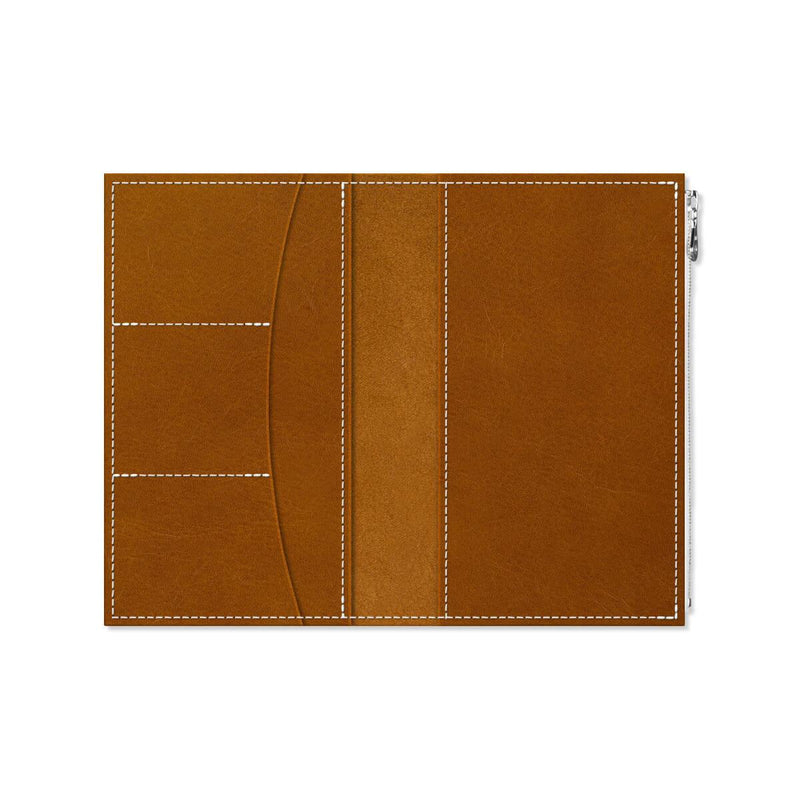 Custom - Foxy Notebook Wallet Insert - Size No. 7 - Whiskey
