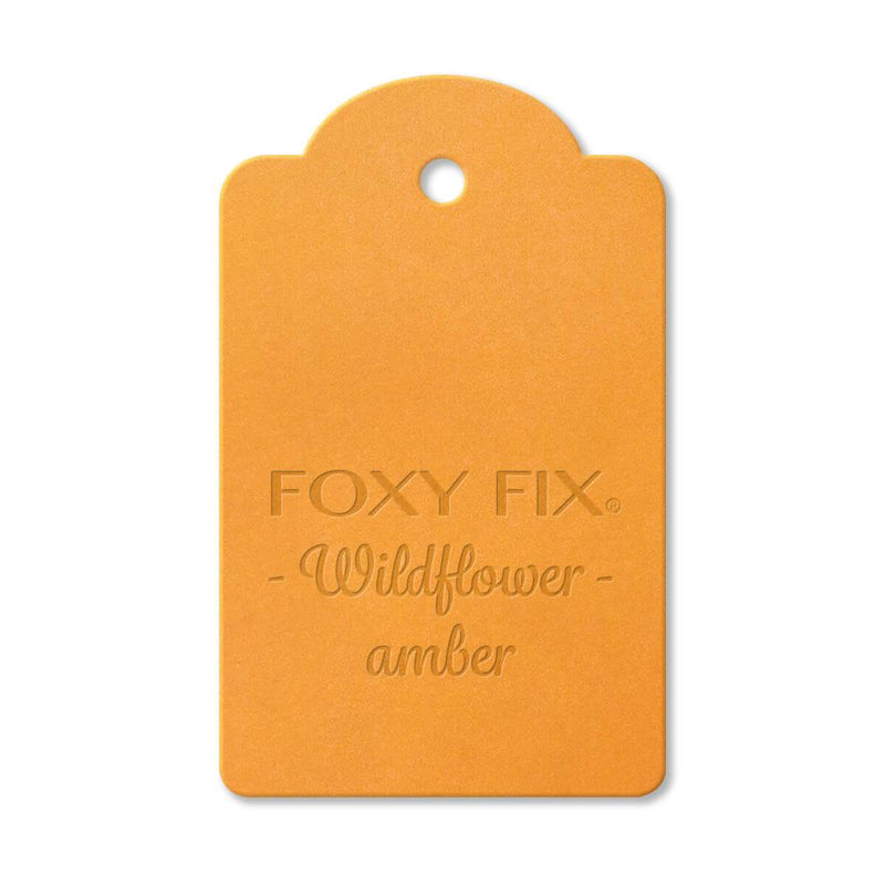 Leather Sample - Wildflower - Amber