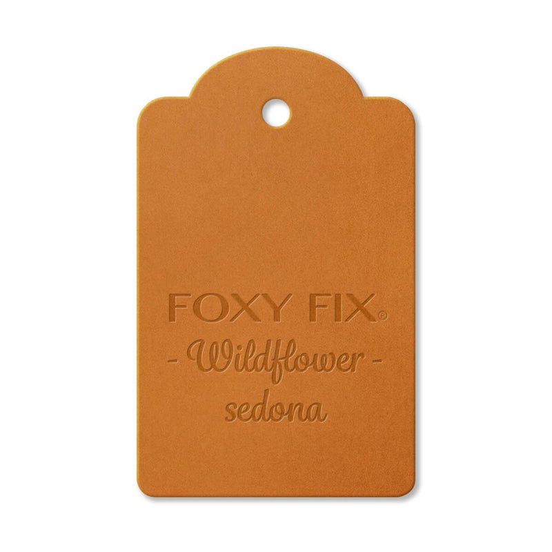 Leather Sample - Wildflower - Sedona