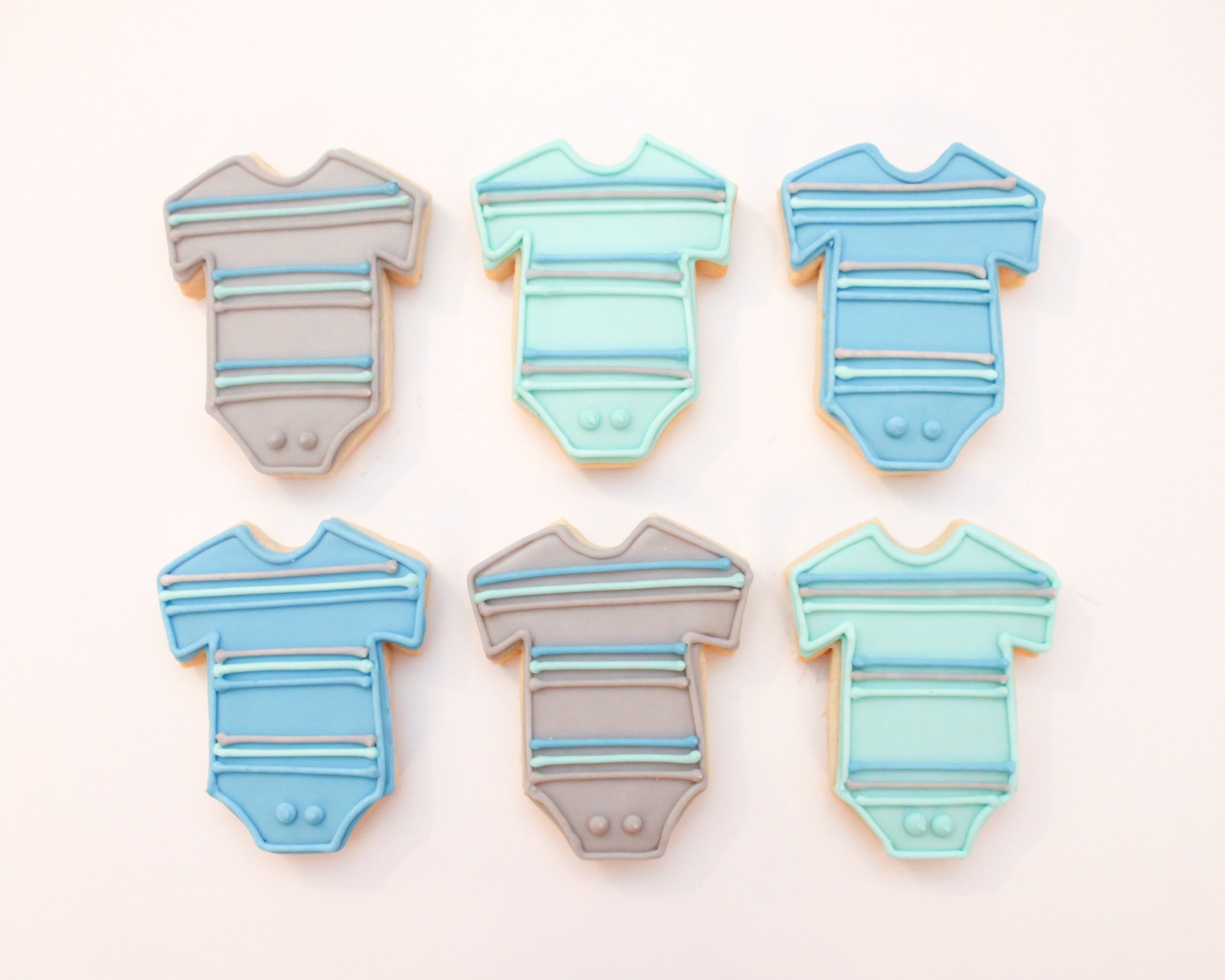 81d761a8b Baby Boy Onesie Set - Whimsy Cookie Company