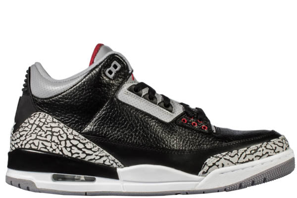 "AIR JORDAN 3 ""BLACK CEMENT 2018"""