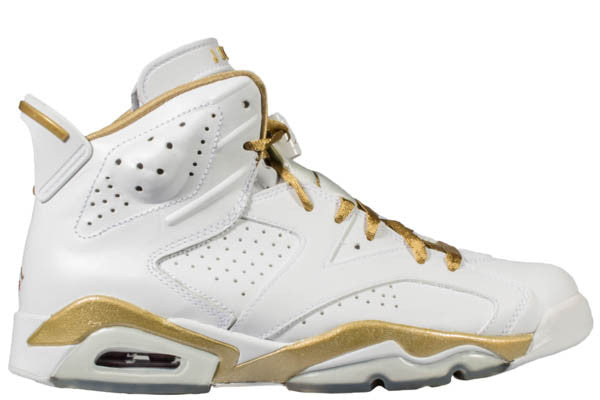 "AIR JORDAN 6 ""GOLD MEDAL"""