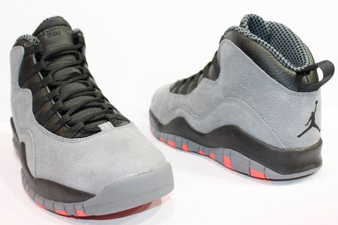 "AIR JORDAN 10 ""COOL GREY INFRARED"""