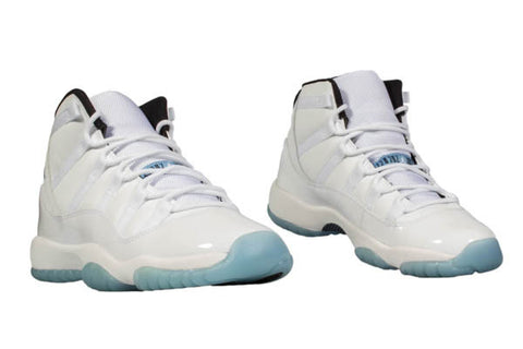 "AIR JORDAN 11 (GS) ""LEGEND BLUE"""
