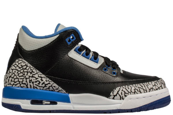 "AIR JORDAN 3 ""SPORT BLUE"" GS"