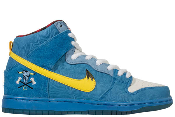 "NIKE SB HIGH ""BLUE TAIL OX"""