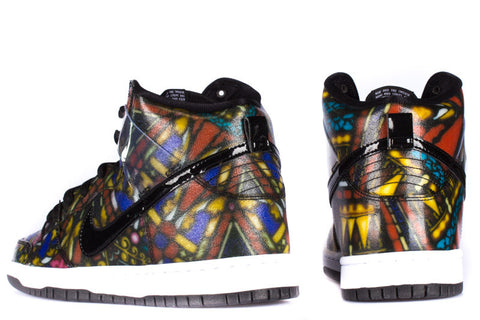 "NIKE SB HIGH ""STAINED GLASS"""