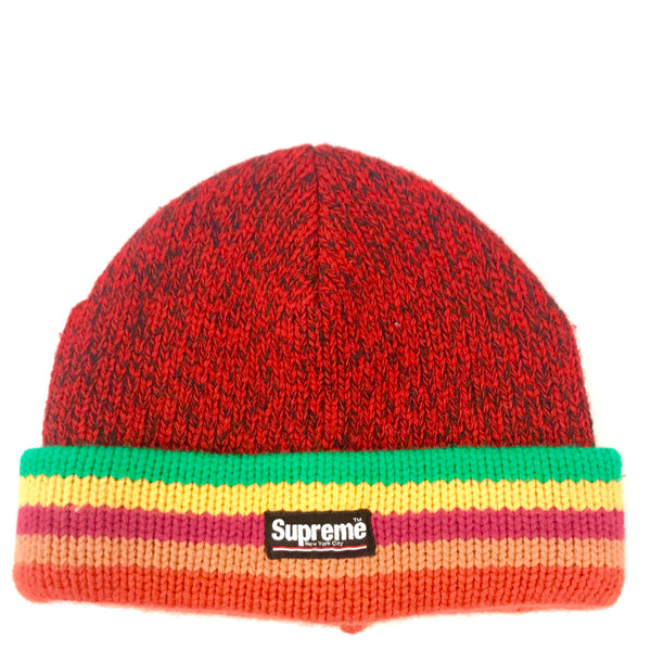 "SUPREME RAGG WOOL BEANIE ""RED"""