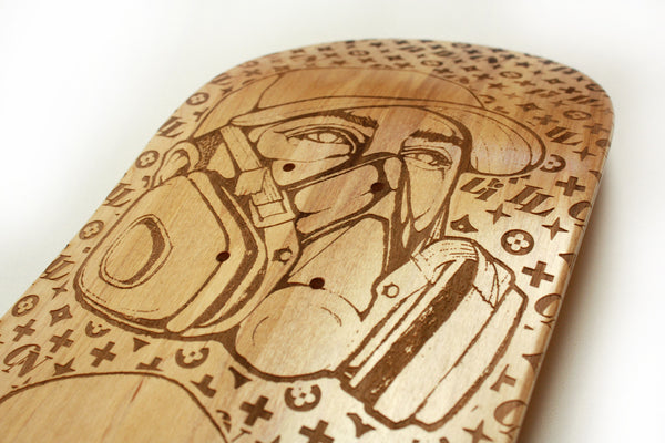3 Headed Monster LE Skateboard