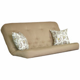 Clyde Camel mattress w/ Avennious Citron Yellow pillow set