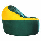 Game Day Lounger- H. Green & Yellow