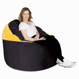 Black & Gold (123) Adult Lounger