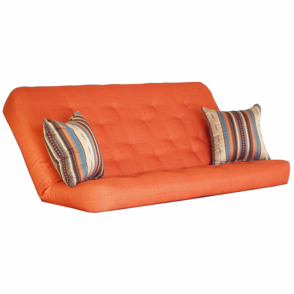 Cassandra Orange mattress w/ Legend Sierra pillow set