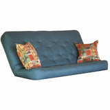 Cassandra Turquoise mattress w/ Laramie Terracotta pillows set