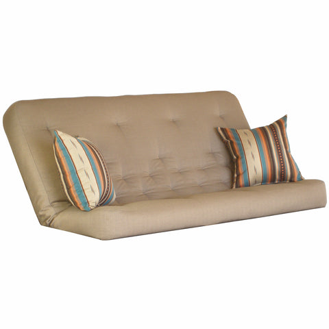 Clyde Mocha mattress w/ Legend Sierra pillows set